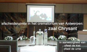 crematorium Wilrijk aula Chrysant