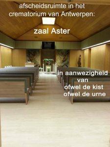 crematorium Wilrijk aula Aste