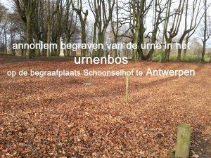 urnenbos Schoonselhof