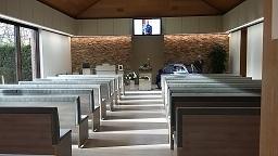 vernieuwde zaal aster crematorium Pontes