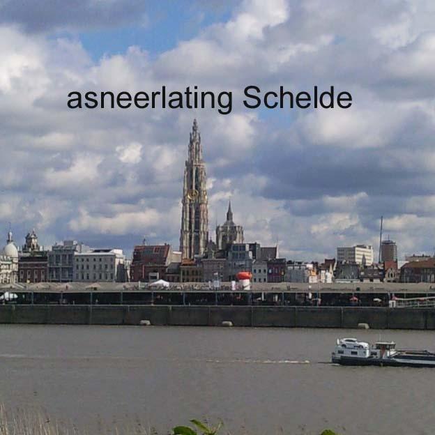 asverstrooiing Schelde