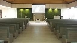 vernieuwde zaal chrysant crematorium Antwerpen